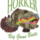 Horker Ding O' Ling Big Game Baits for Halibut, Lingcod, rockfish and more.
